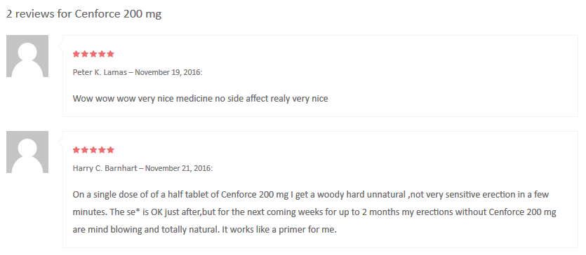 According to one Peter Lamas, who wrote his review in November 2016, the 200mg Sildenafil Citrate drug he used turned out very nice and gave him no side effects