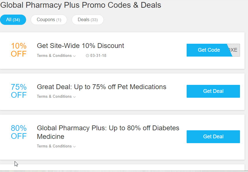 Global Pharmacy Plus Coupon