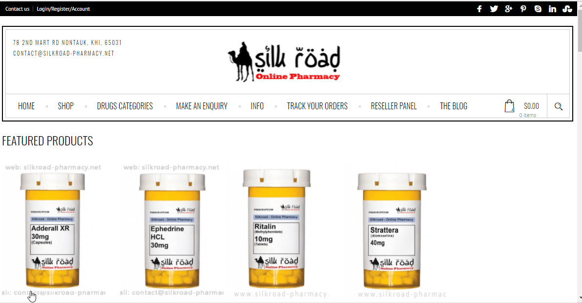 Silkroad Pharmacy Reviews