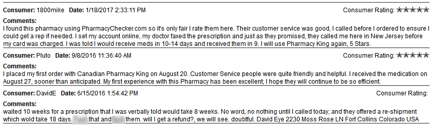 Customers like 1800mike commended the store for its good service