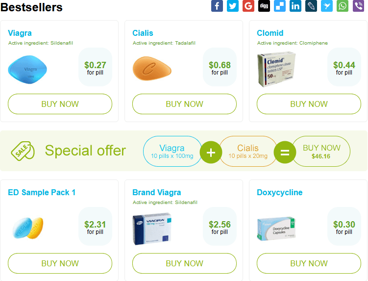 Some of the Best Selling Discount Drugs Online