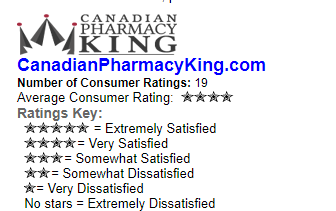 Canadian Pharmacy King 4* Rating
